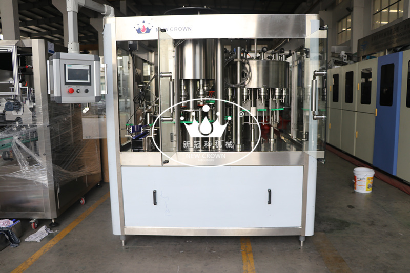 CGF12-12-4 Honey Water Filling Machine with Cup Measuring Filling Valve