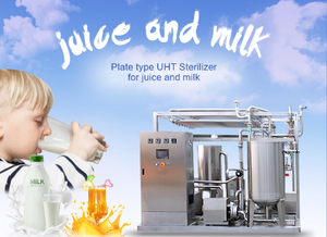 Juice&Milk Plate Type UHT Pastuerizer Machine