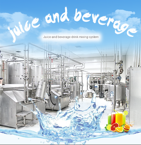 Juice And Beverage Drink Mixing Production Line