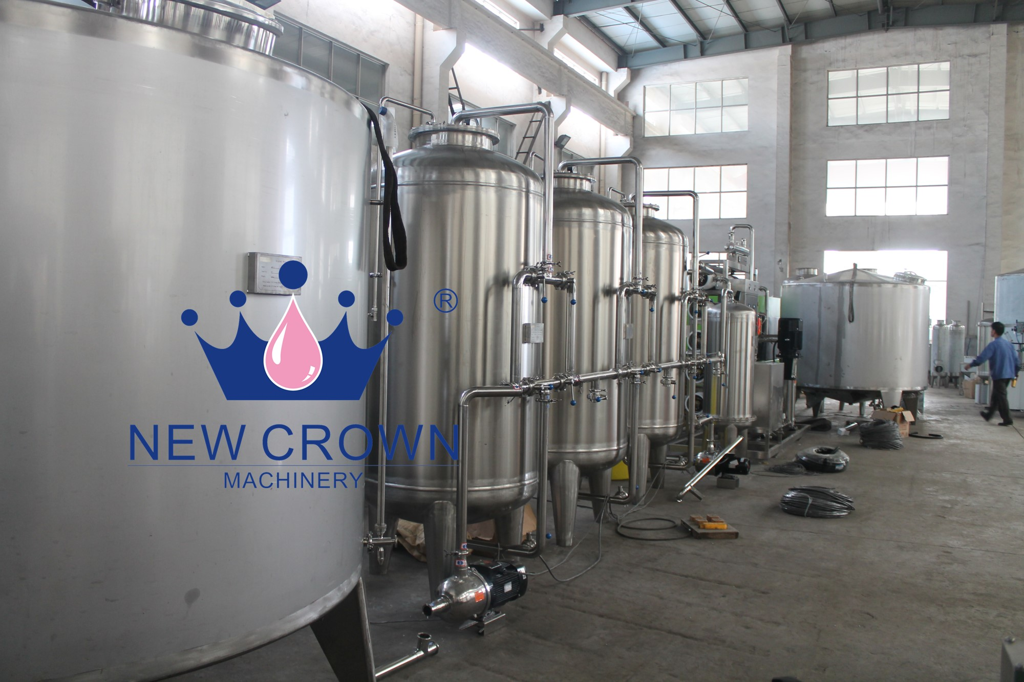 Complete Drinking Water Filling Machine
