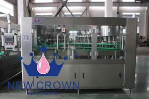 Glass Bottle (Twist Off Cap) Percison Juice Filling Machine