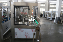 PLC controlled Automatic Empty Glass Bottle Jar Washing Rinsing Machine