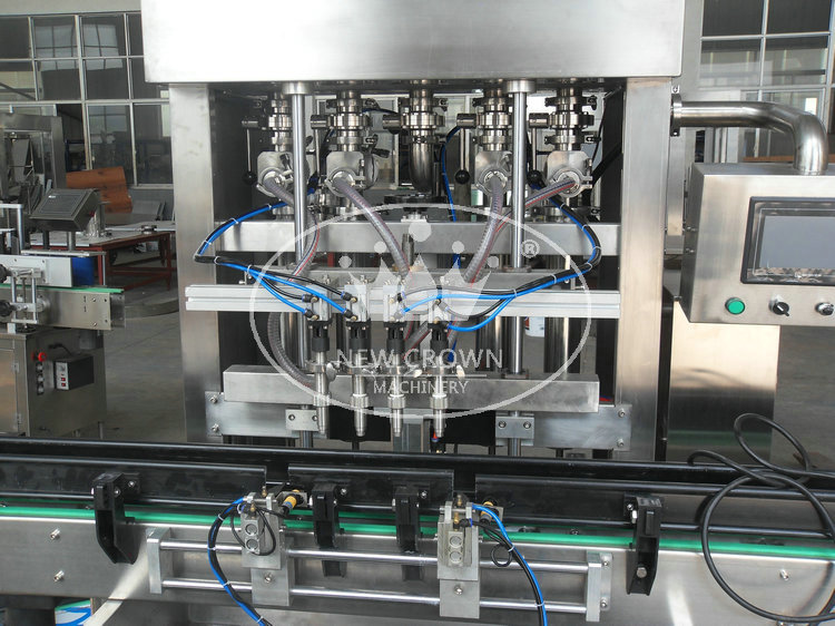 Glass Bottle Olive Oil Filling Machine