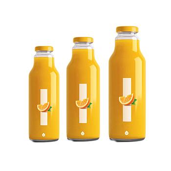 3L-5L glass bottle