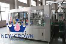 Percison Plastic Bottle Water Filling Machine