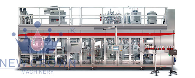 Aseptic Ultra Clean Juice Filling Machine
