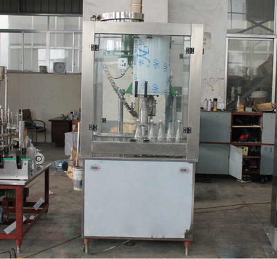 2000BPH Single head aluminum cap bottle capper