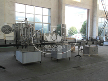 Glass Bottle Wine Filling Machine for Small Scale