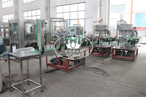 Small Scale Carbonated Drink Filling Machine